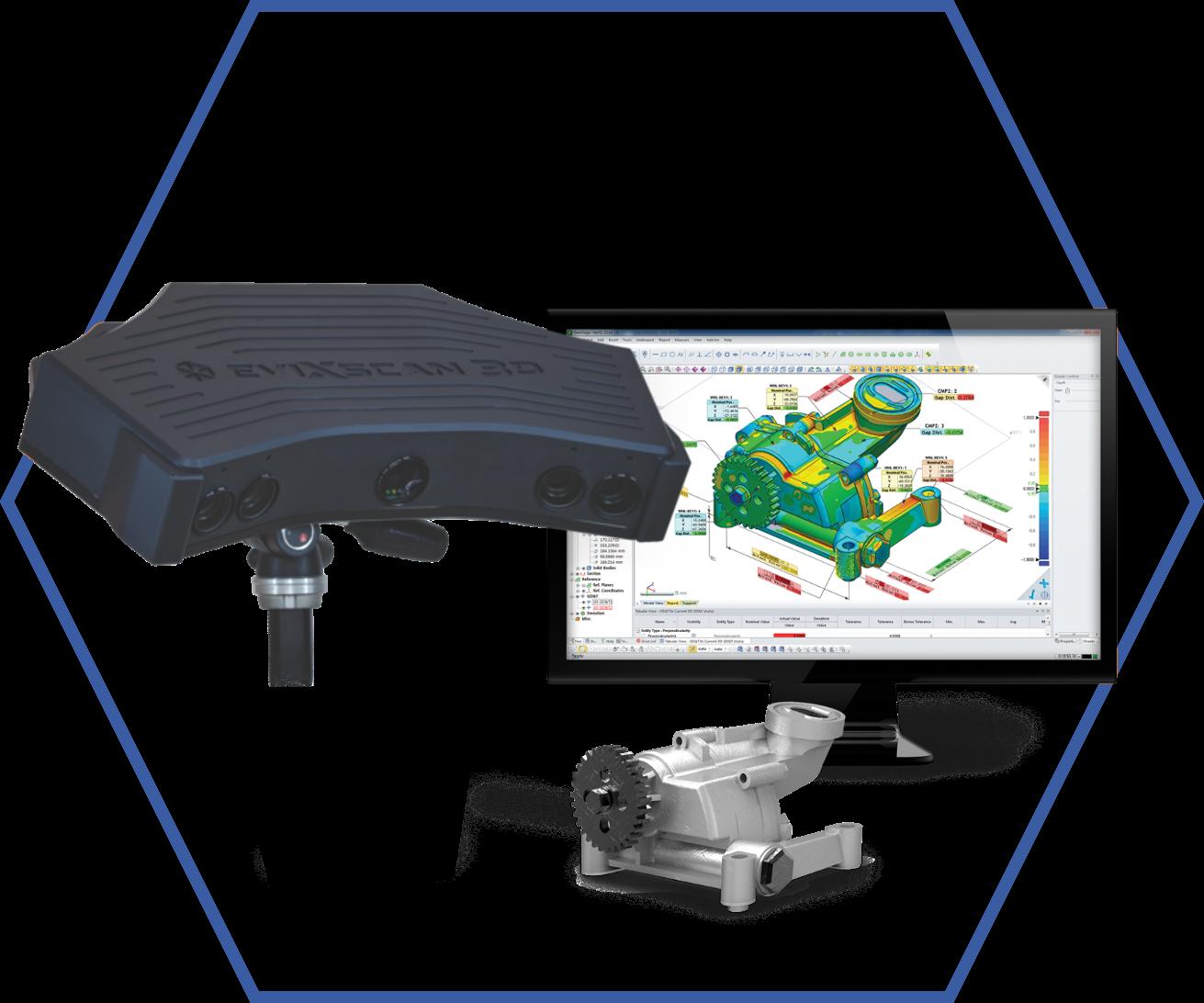 3D Szkennerek